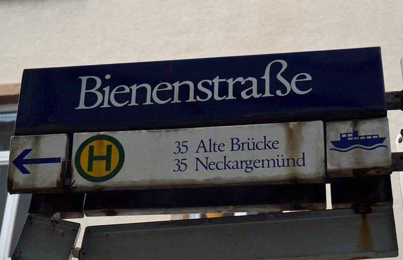 Bienenstraße, Heidelberg (Danke, Olli!)