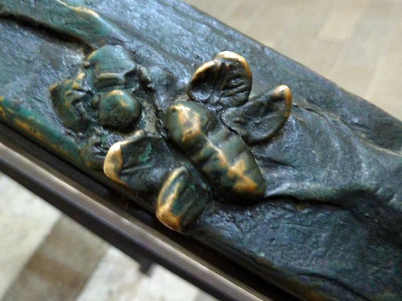 Naumburg (Saale), Dom St. Peter und Paul, Handlauf Franziskus und die Tiere